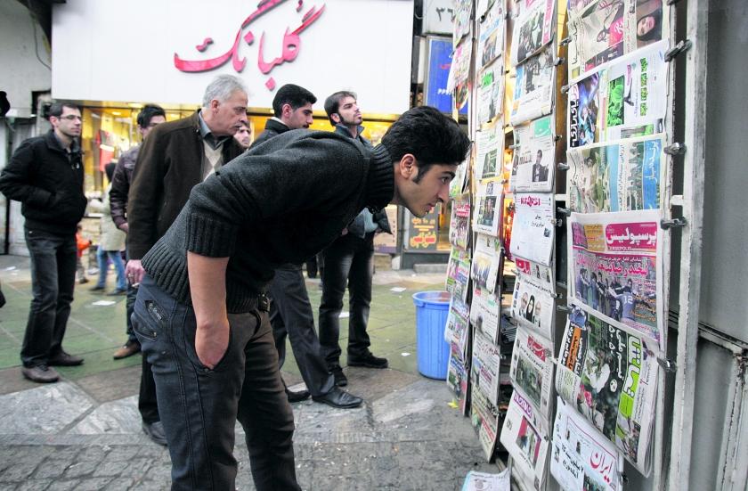 Meer ruimte voor de pers in Iran  (ap / Vahid Salemi)