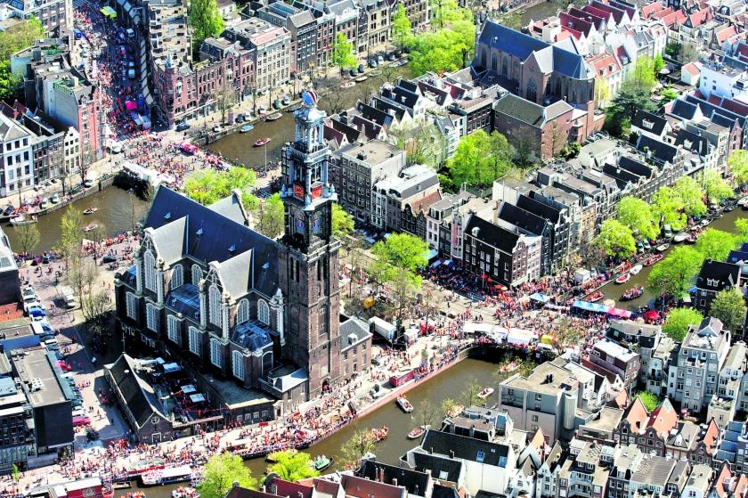 De Westerkerk is allang bruisend en slim in gebruik  (anp / Bram van de Biezen)