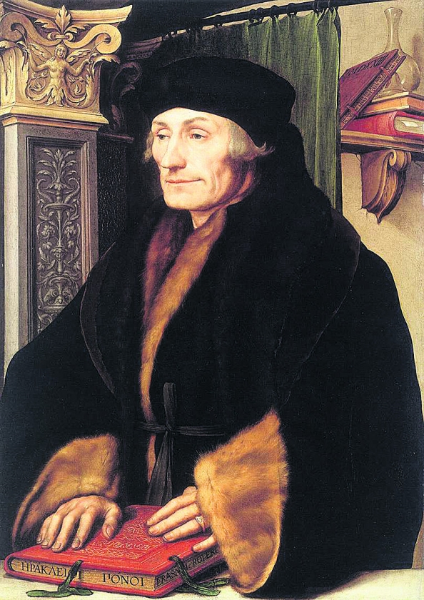 Desiderius Erasmus Roterodamus, aangenaam