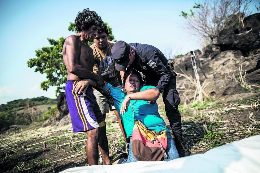 Bendeoorlog verteert El Salvador  (ap / Manu Brabo)