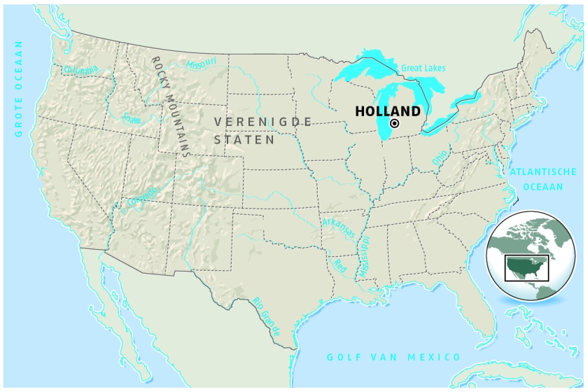 hollands verleden in amerikaans michigan nederlands dagblad nederlands dagblad