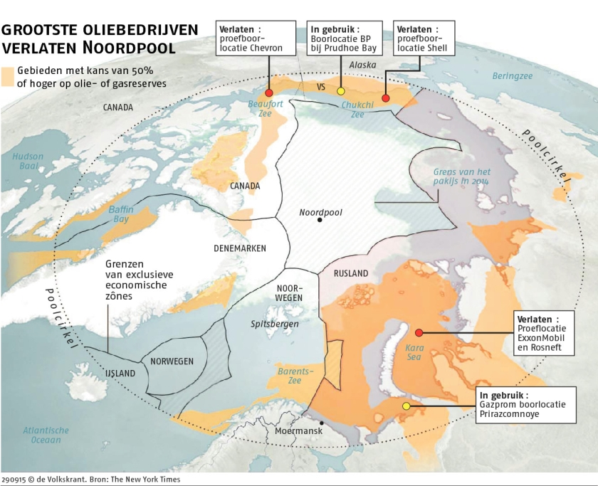 Shell staakt plotseling zoektocht naar olie bij Alaska  (ap / Daniella Beccaria)
