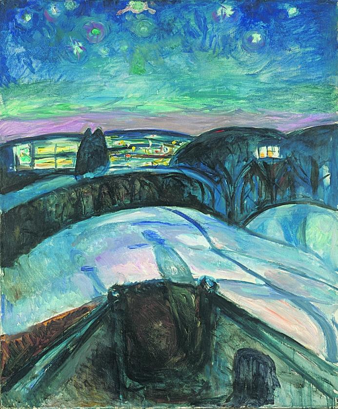 Dromen met Munch en Van Gogh