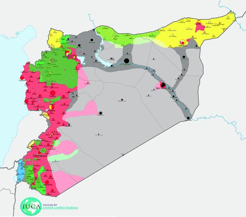 Assad rust pas bij een alawitische staat  (Institute for United Conflict Analysts)