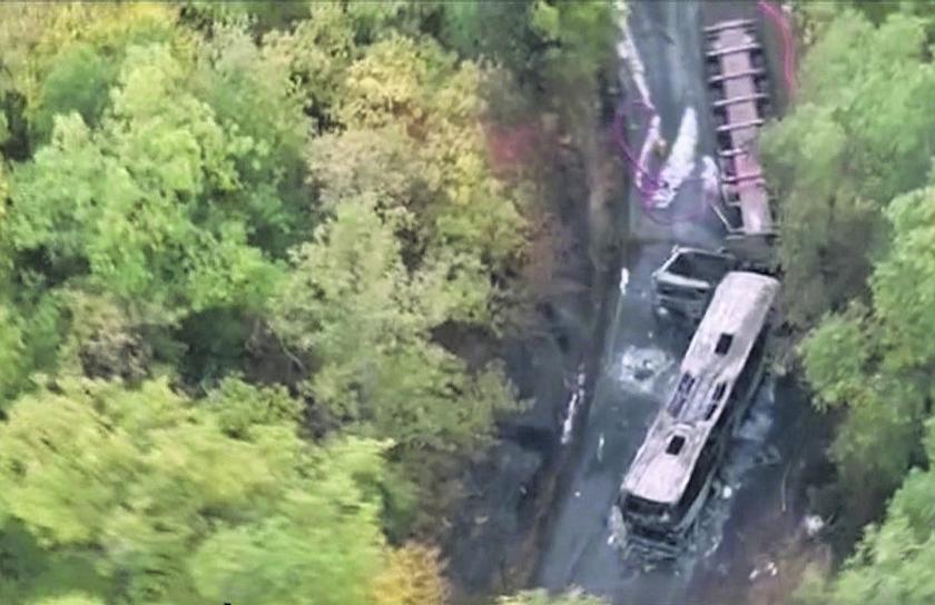 Ruim veertig doden door busongeval in Frankrijk  (ap nd.nl)