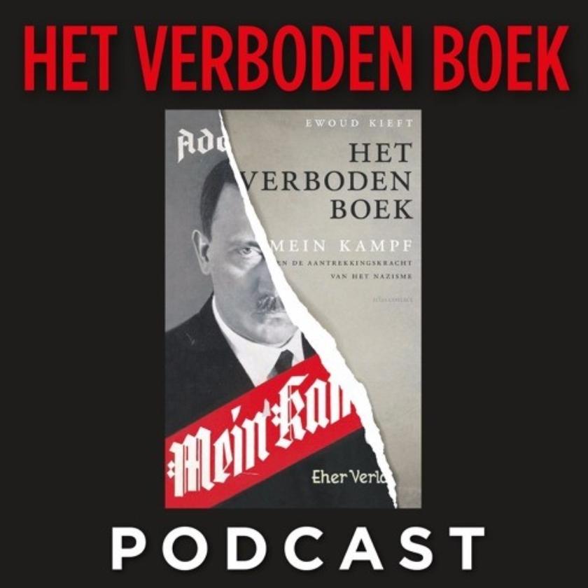 Inzet uitgeverij heeft een podcast met discussies over Het Verboden Boek.   (nd, anp en ap)