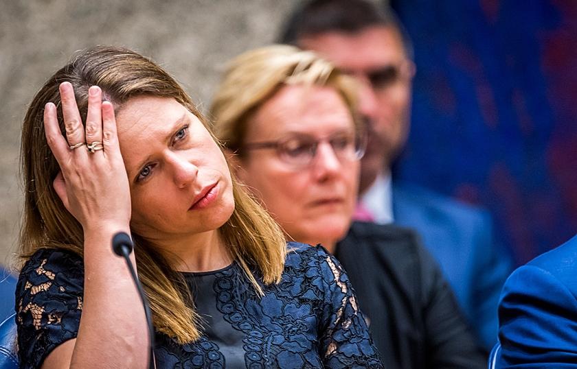 Minister Schouten (Landbouw): 'Het enige dat ik kon zien, was dat de kalverenadministratie bij 2100 bedrijven niet klopte.'  (anp / Lex van Lieshout)