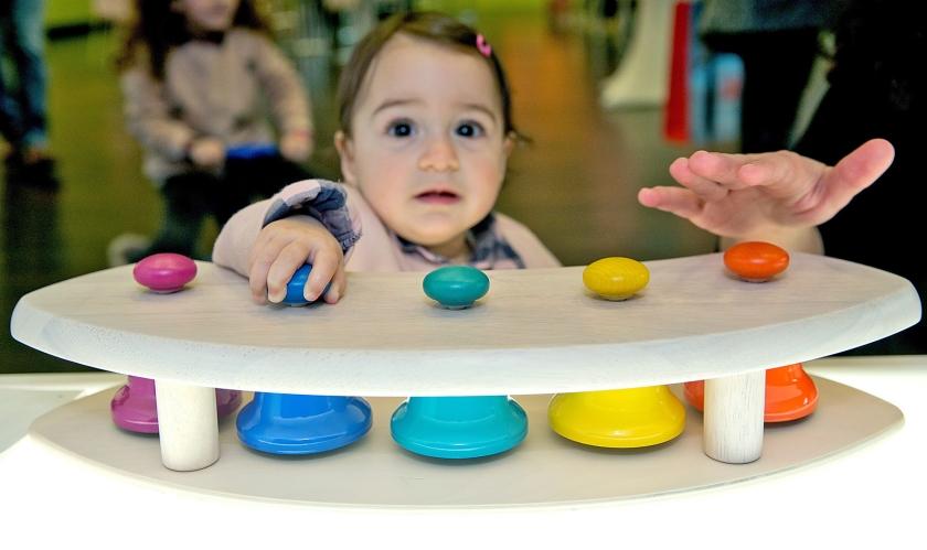 Doorzettingsvermogen is niet alleen aangeboren, maar kan ook aangeleerd worden, en dat al op zeer jonge leeftijd.  (ap / Daniel Karmann)