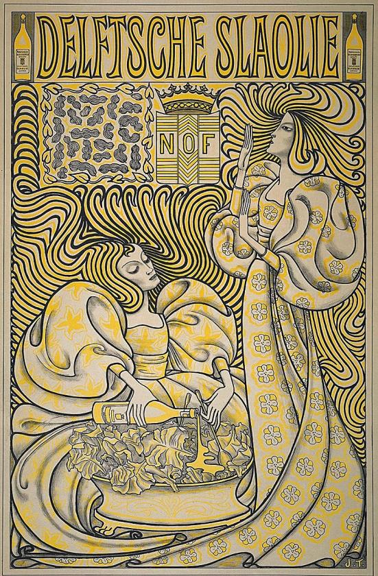 Jan Toorop, de man van de 'slaoliestijl'   (gemeentemuseum)