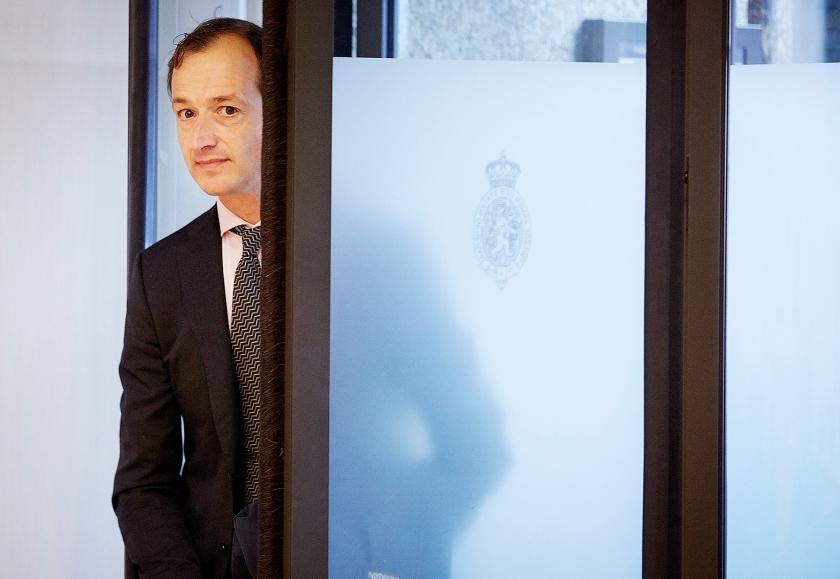 Staatssecretaris Eric Wiebes (Financiën)  (anp / Martijn Beekman)
