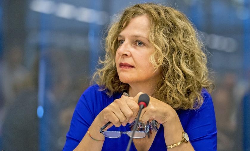 Minister Schippers (Volksgezondheid): 'Ik ben gespitst op elke vorm van fraude.'  (anp / Jerry Lampen)