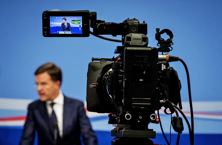 Premier Rutte blijft optimitische over het Urgenda-klimaatdoel.  (anp / Robin van Lonkhuijsen)