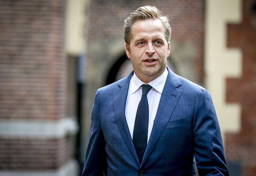 Minister van Volksgezondheid Hugo de Jonge (CDA)  (anp / Remko de Waal)