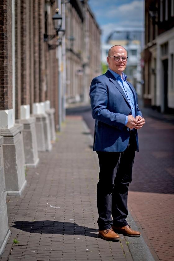 Derk Stegeman: 'Ik lijd aan de ongelijkheid die ik zie in Den Haag'   (David van Dam)