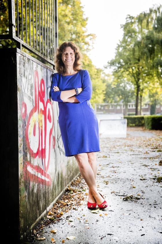 Vincenza La Porta: 'In Italië ben ik een paar procent gelukkiger'   (Jeroen Jumelet)
