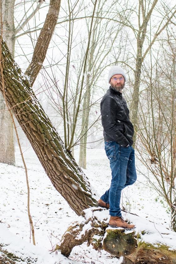 Reinier Sonneveld: 'Ik ben gelukkig als ik een zwaardgevecht houd met mijn zoontje'   (Reinier Zoutendijk)