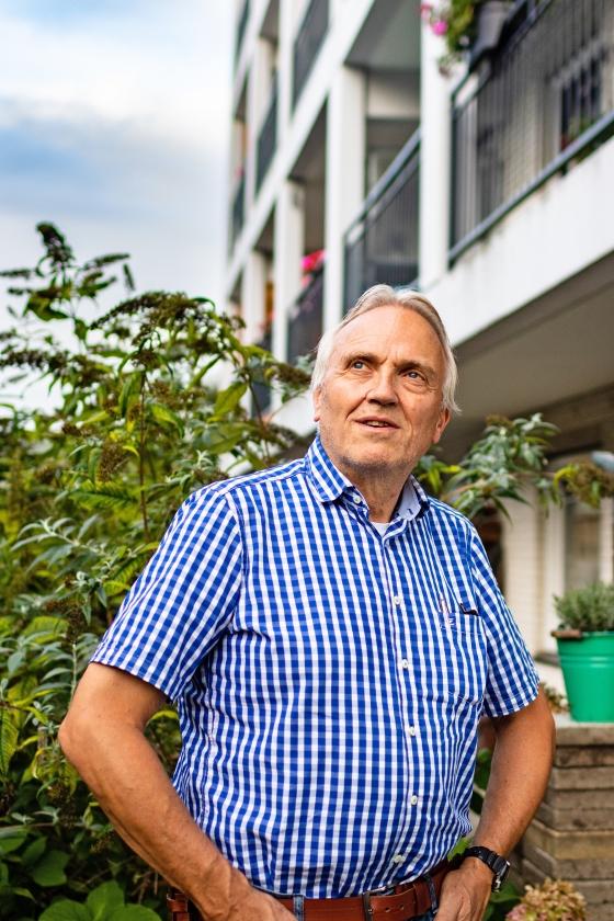 Maf-piloot Jan Zwart: 'Ik kan niets meer verliezen'   (Reinier Zoutendijk)
