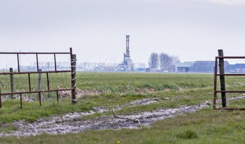 Gaswinning bij Loppersum.  (anp / Vincent Jannink)