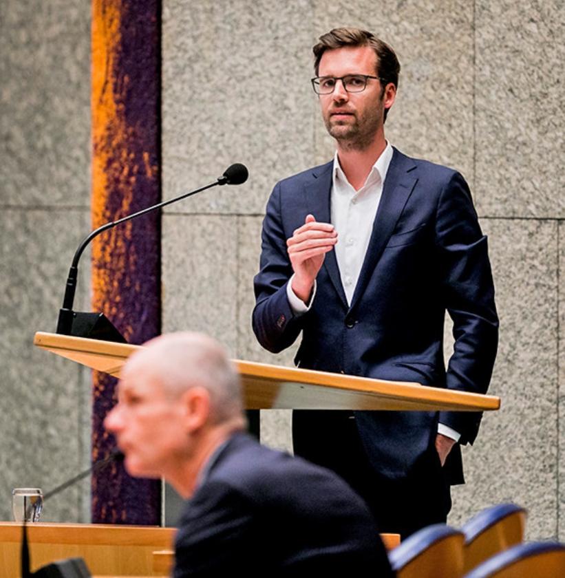 Kamerlid Sjoerd Sjoerdsma   (anp / Remko de Waal)