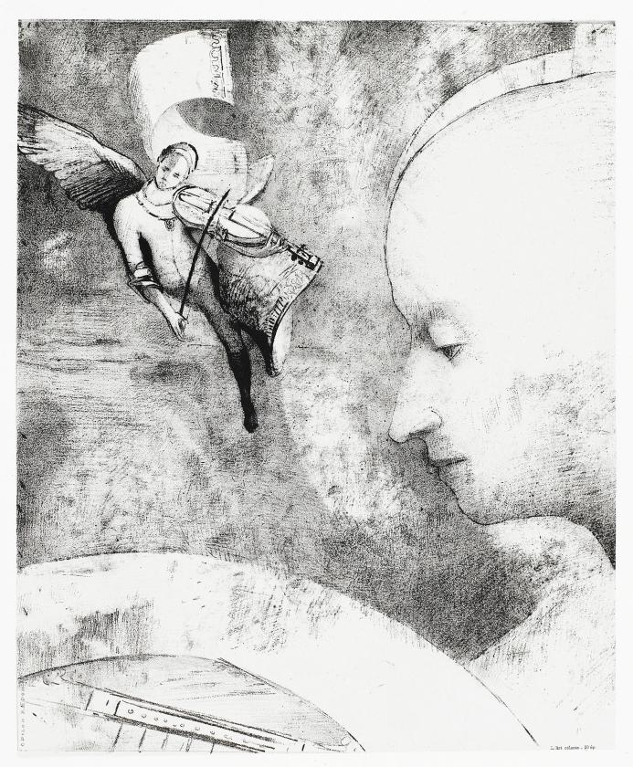 Odilon Redon, L'art céleste (De hemelse kunst) – The celestial art, 1894.   (kröller-müller museum)