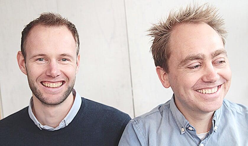 Lester du Perron (links) en Tijs Stehmann (rechts).  (Viking Promo)