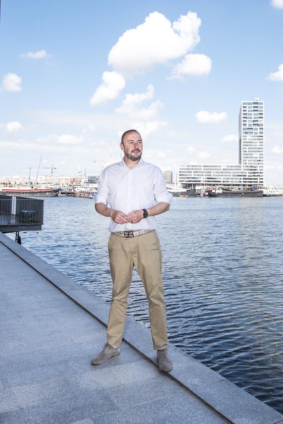 Martin de Jong: 'Natuurlijk mogen we plannen maken, maar laat God zijn werk doen'   (Martin Waalboer)