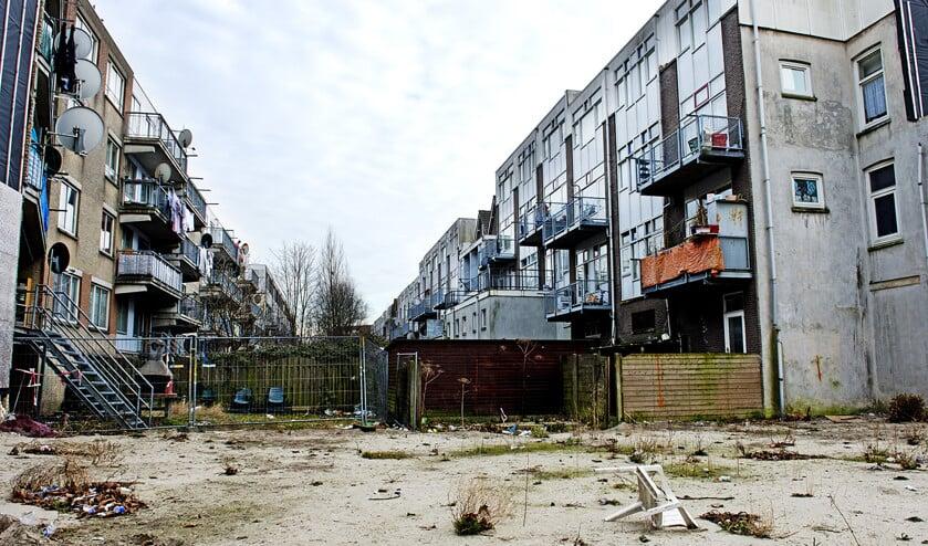 Rotterdam wil sommige wijken een adempauze geven door de instroom van mogelijke nieuwe problemen te stoppen.  (anp / Robin Utrecht)