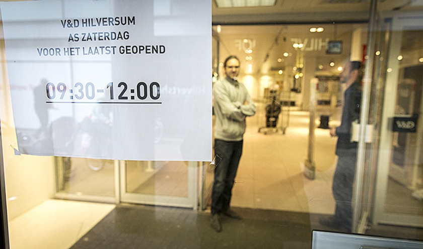 Phlippe Hondelink wil dat het erfgoed van VenD bewaard blijft.  (anp / Jerry Lampen)