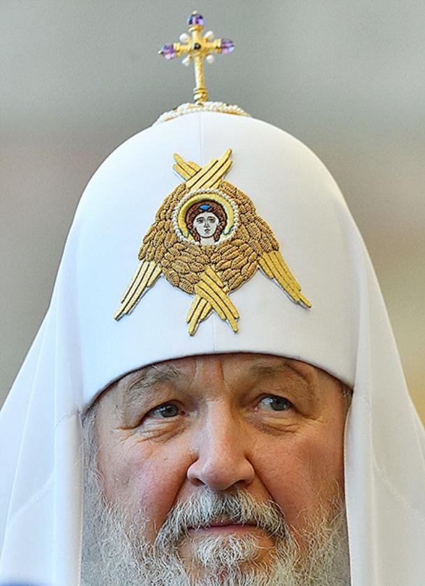 Patriarch Kiril van Moskou  (afp)