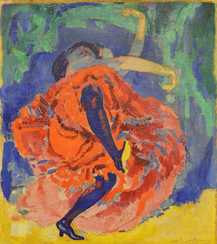 Danseres, ca. 1907. Singer Laren (bruikleen uit particulier bezit).   (pictoright amsterdam)