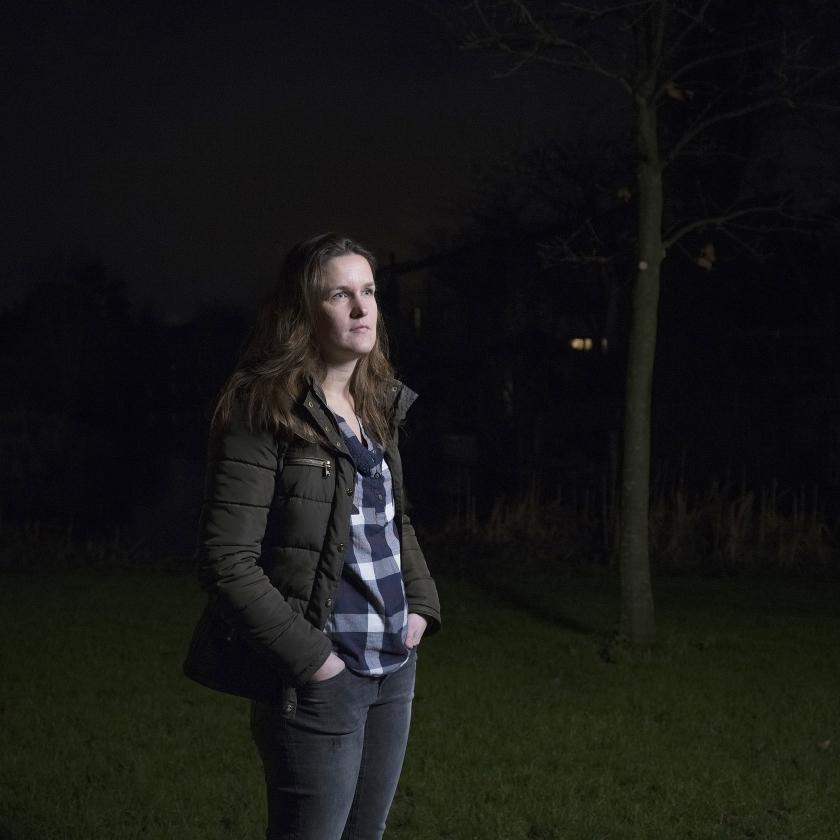 Sandra Versteegh: 'Ik voel me ook gezegend, vanwege de steun die we kregen en de dochter die dertien maanden later geboren werd.'   (Joost Hoving, istock)