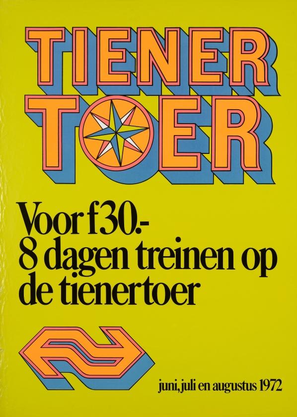 De Tienertoer leidde tot romances en kilometervreters   (spoorwegmuseum)