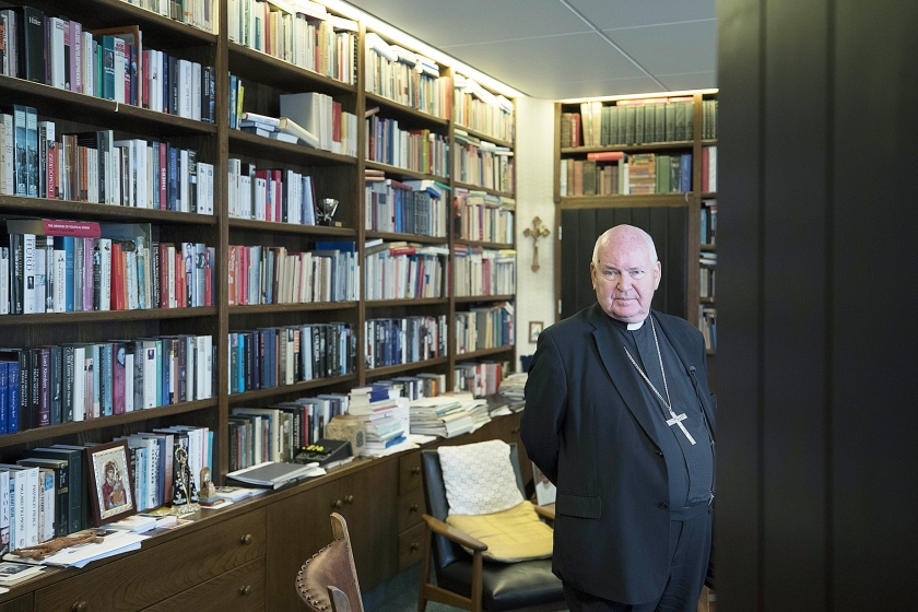 Bisschop Frans Wiertz: 'Ik vertrouw vooral.'  (anp en Dick Vos)