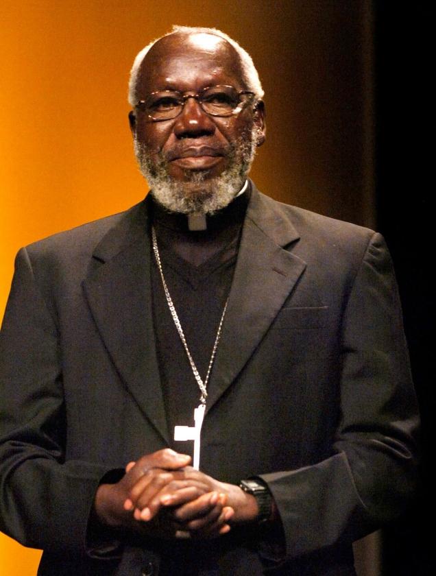 Bisschop Paride Taban   (ap / Sigi Tischler)