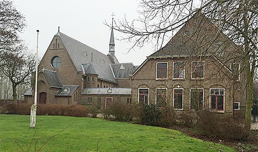 Het klooster van Witmarsum.  (nd)