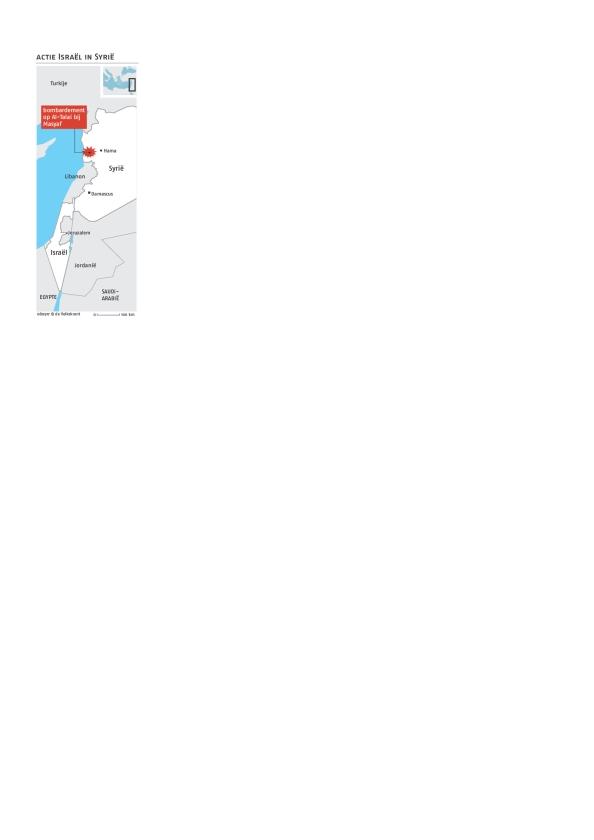 Israël trekt met aanval rode lijn voor Syrië   (epa / Alexey Nikolsky)
