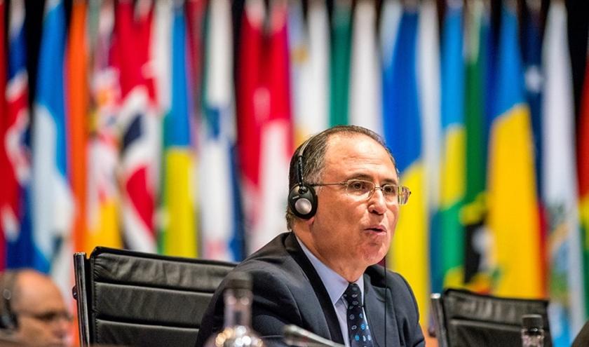De Marokkaanse ambassadeur in Nederland Abdelouahab Bellouki  (anp / Jerry Lampen)