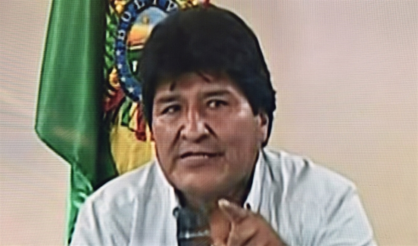 Voormalig president Evo Morales  (afp)
