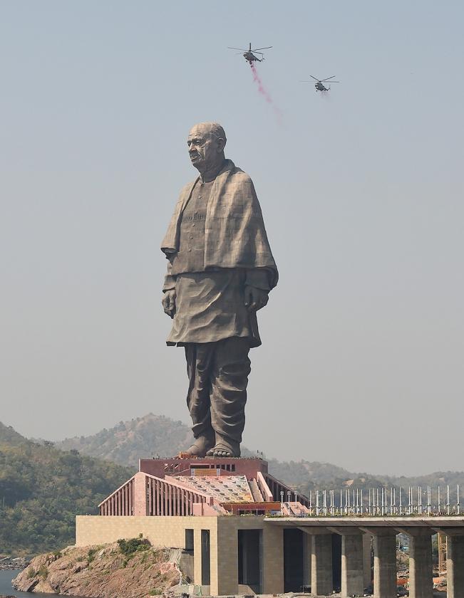 Premier Modi denkt vooruit met grootste standbeeld ter wereld   (afp / Sam Panthaky)