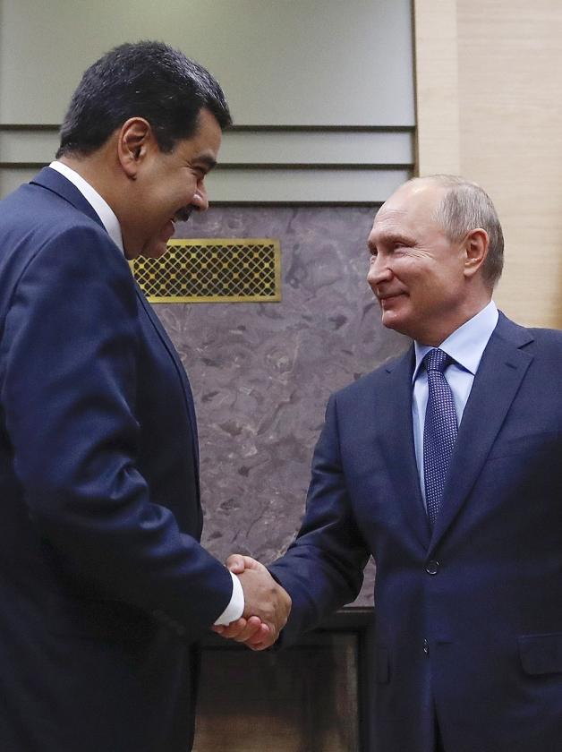 Maduro heeft machtige vrienden   (epa)