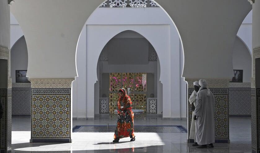 In Rabat bevindt zich het Mohammed VI Instituut, een theologisch centrum waar zo'n 800 imams worden opgeleid. Een bezoek aan het centrum staat op het programma van Franciscus.  (afp)