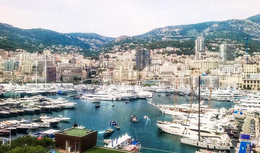 De haven van Monaco.  (ap)