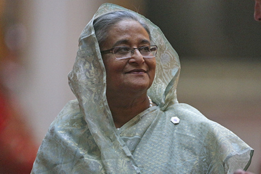 premier Sheikh Hasina  (ap / Daniel Leal-Olivas)