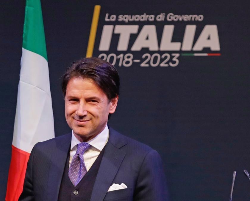 Giuseppe Conte  (ap / Alessandra Tarantino)