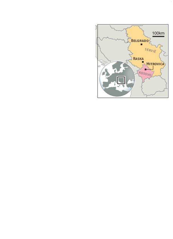 Servië en Kosovo op ramkoers door treinincident   (ap / Darko Vojinovic)