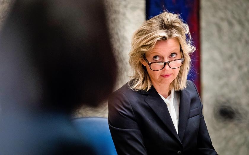 Minister Kajsa Ollongren van Binnenlandse Zaken en Koninkrijksrelaties.  (anp / Bart Maat)