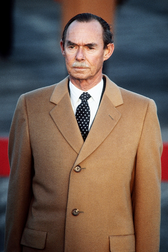 Groothertog Jean in 1985.   (afp / Patrick Hertzog)
