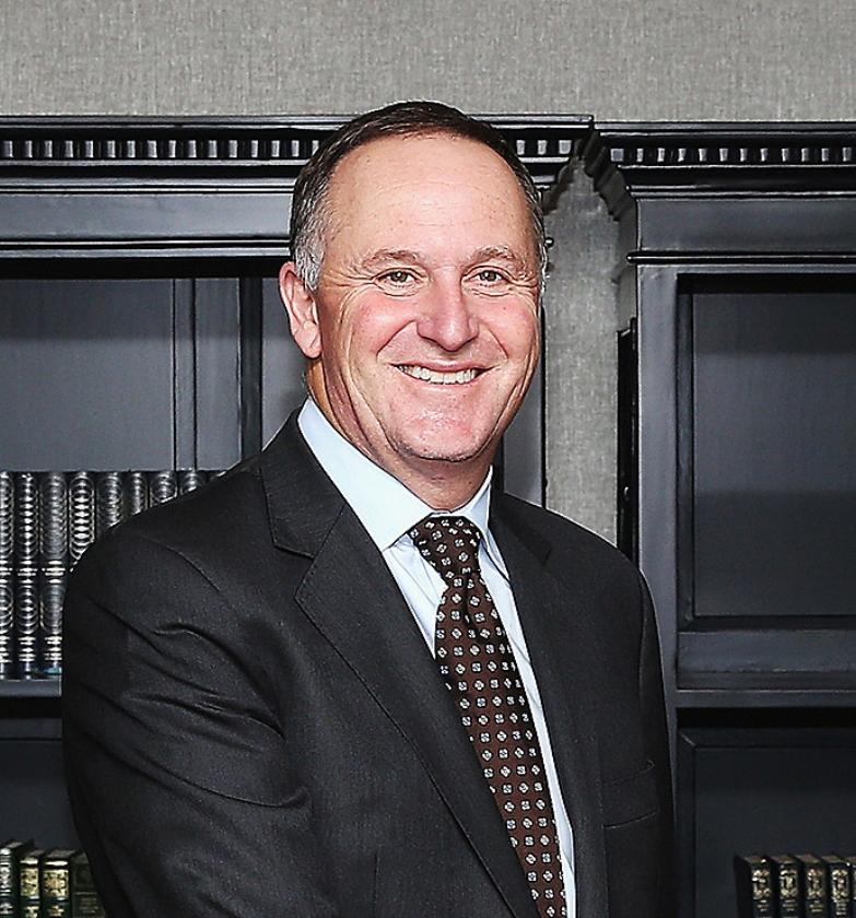 Premier John Key van Nieuw-Zeeland.   (ap)