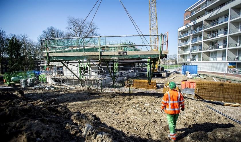 Het schiet niet op met de nieuwbouw. Na een paar betere jaren zal het woningtekort vanaf 2025 weer toenemen.  (anp / Desiree Schippers)