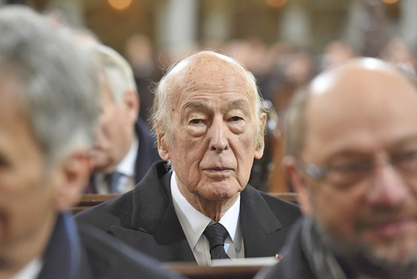 Valéry Giscard d'Estaing  (ap)